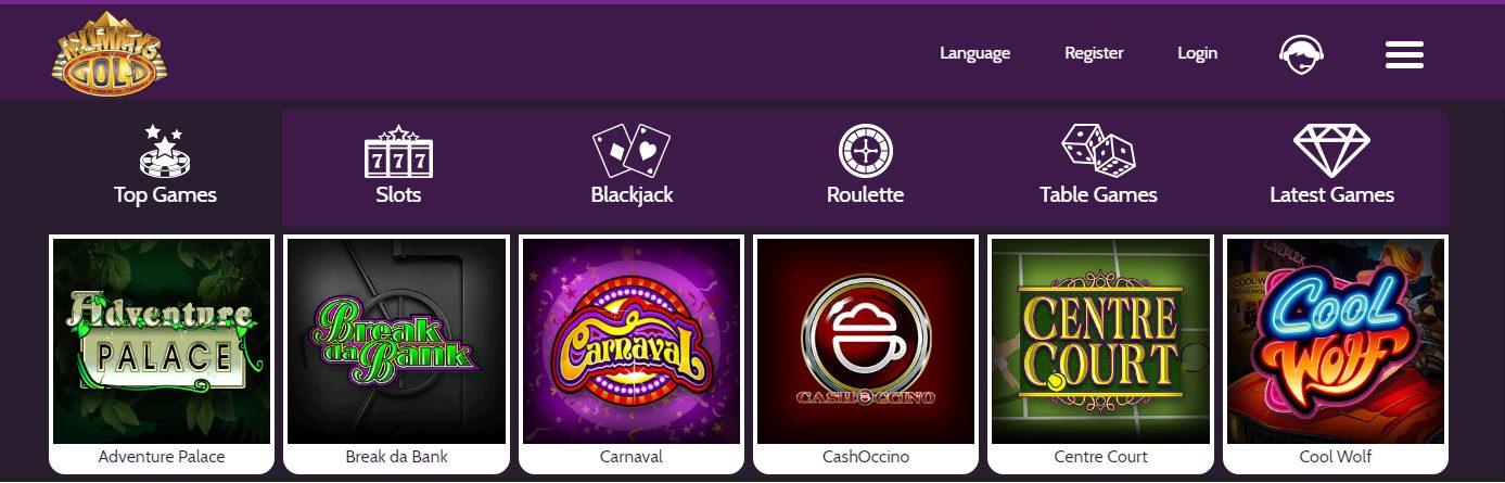 Mummys Gold Online Casino