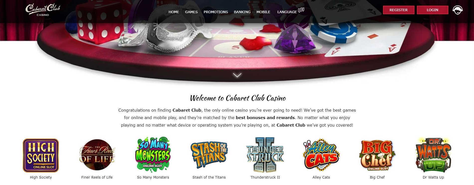 Cabaret Club Casino Online Casino Online Games