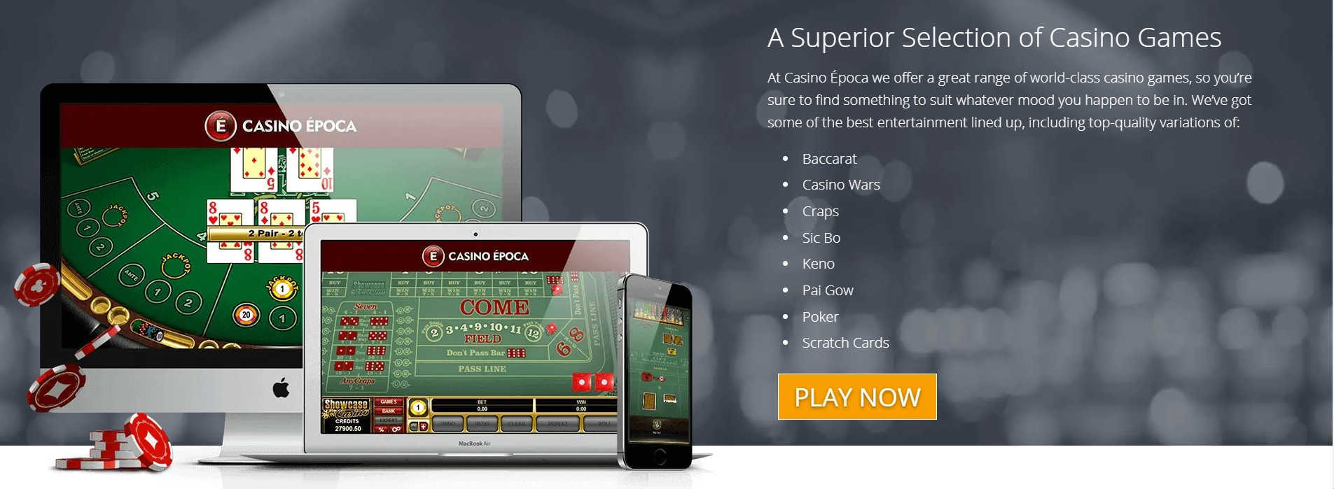Casino Epcoa Online Casino Games
