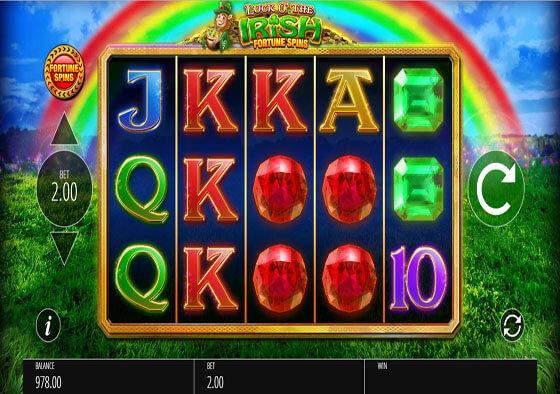 Irish Charms Slot Machine