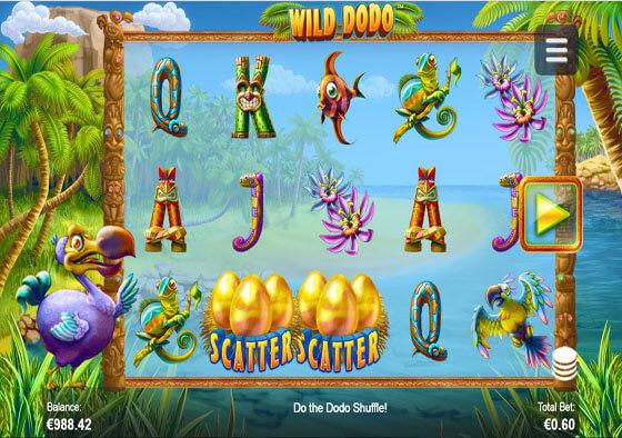 Wild Dodo Slot Machine