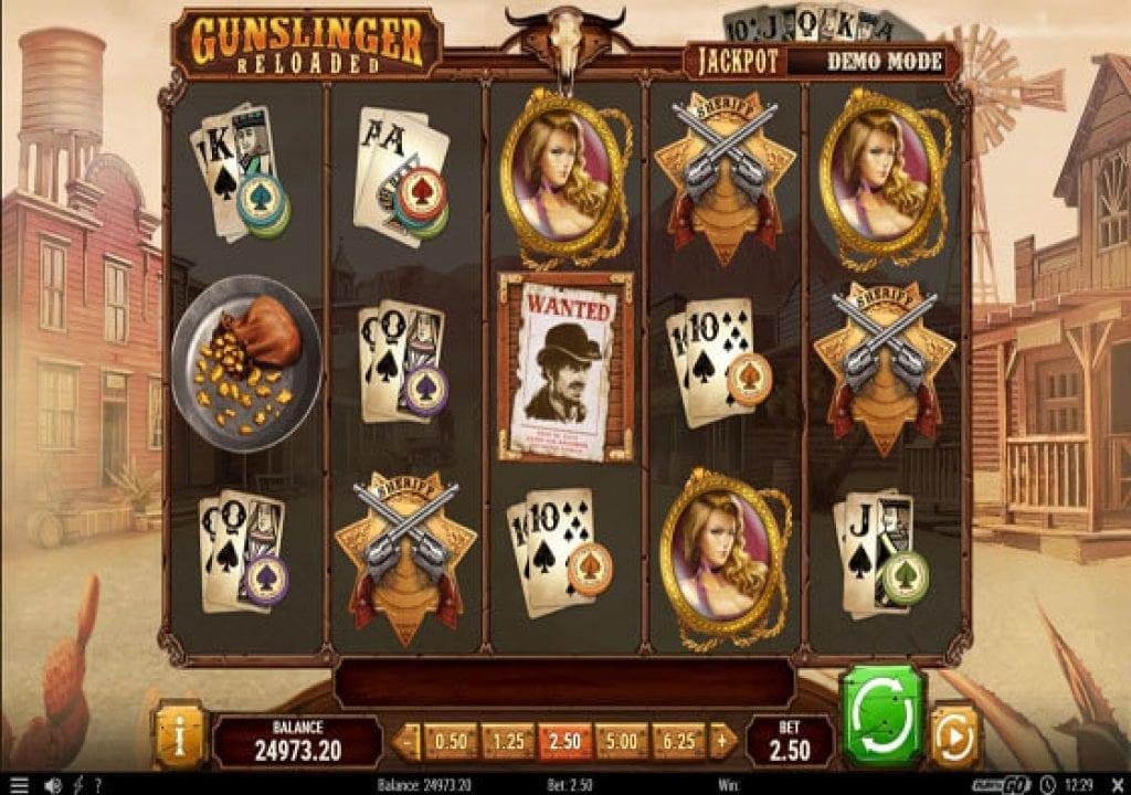 Gunslinger: Reloaded Slot Machine