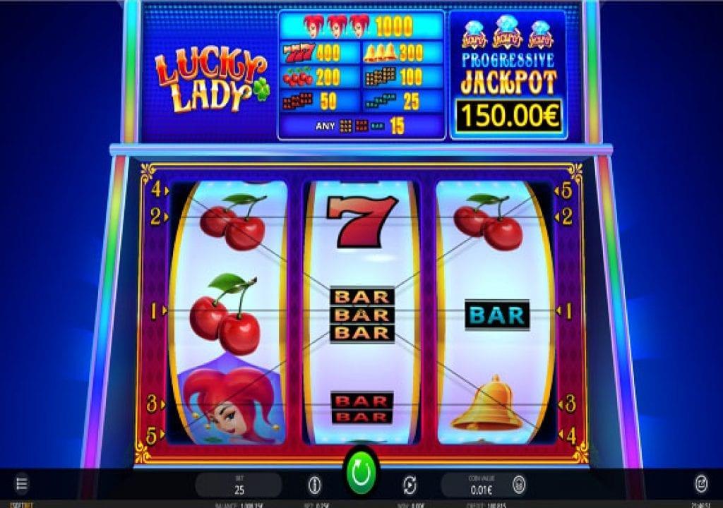 Lucky Ladies Slot Machine