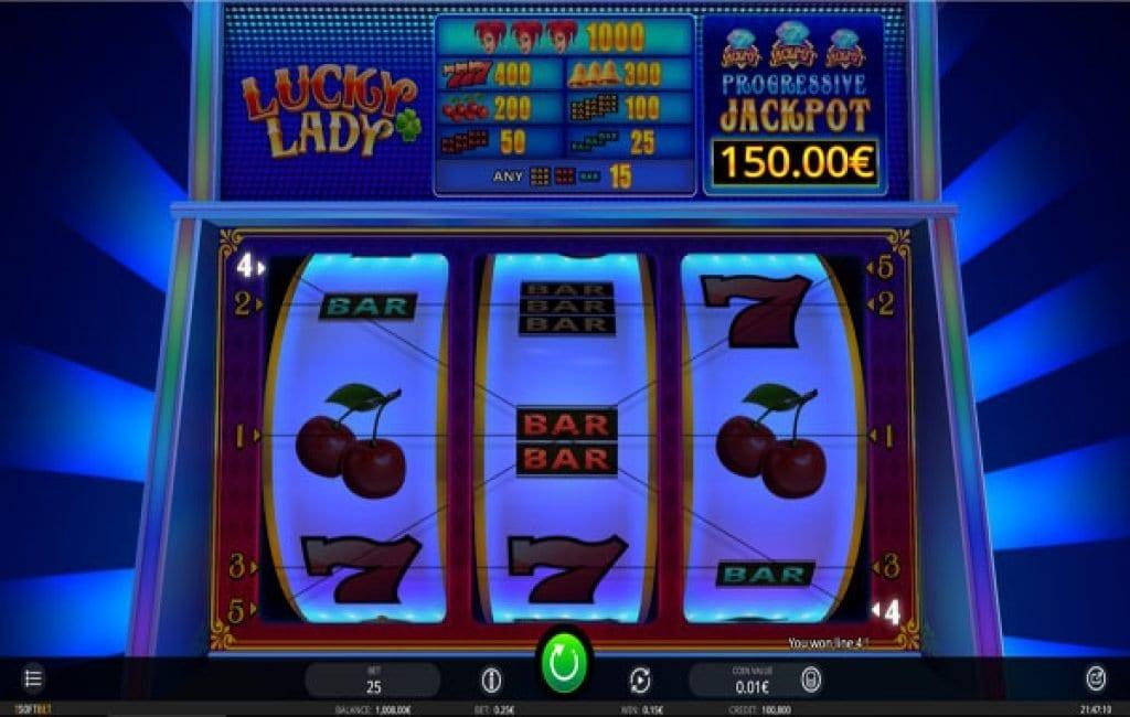 Lady Luck Slot Machine Video