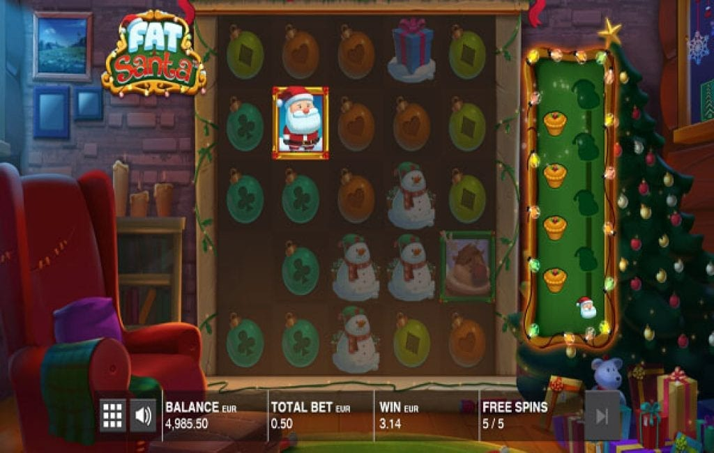 Fat Santa Push Gaming Powered Christmas Themed Slot