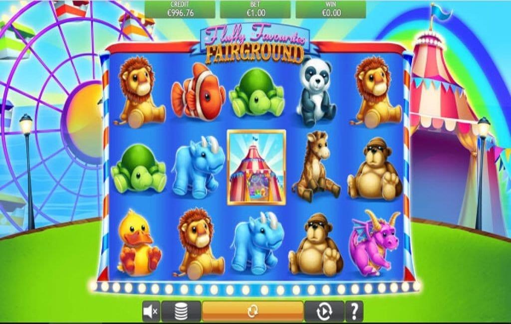 fluffy favorites fairground slot