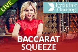 Live Dealer Baccarat Casino at Vegas Paradise