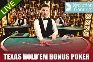 Live Dealer Texas Hold Em Casino at Vegas Paradise Online