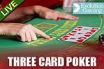 Live 3 Card Poker