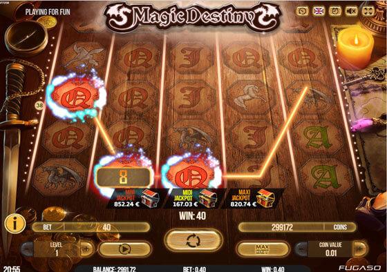 magic destiny slot