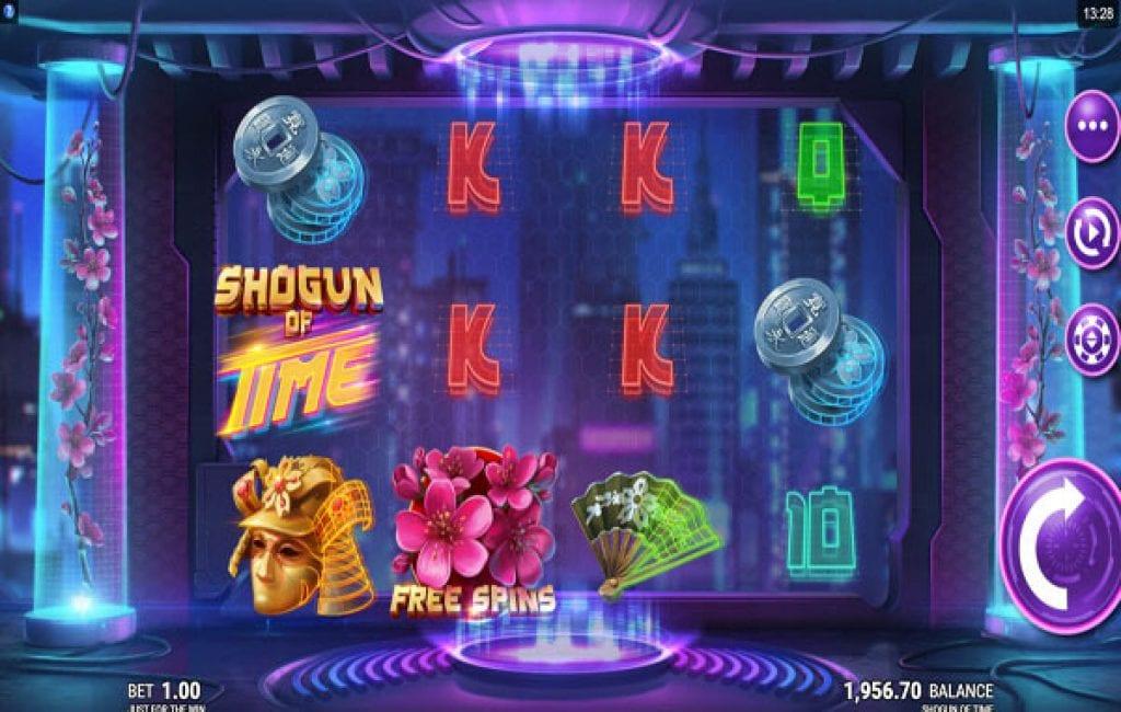 shogun of time slot