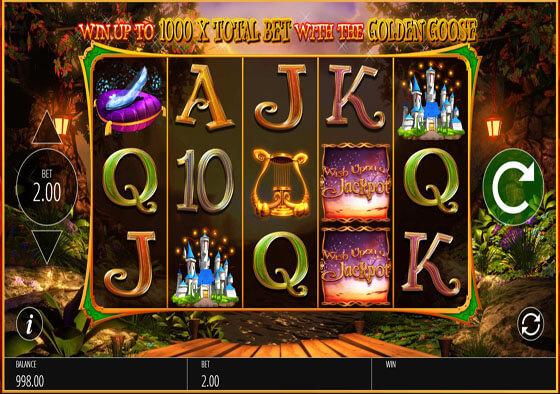 Slot machine wish upon a jackpot