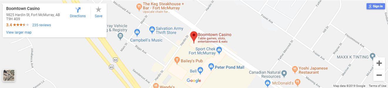 Boomtown Casino Canada