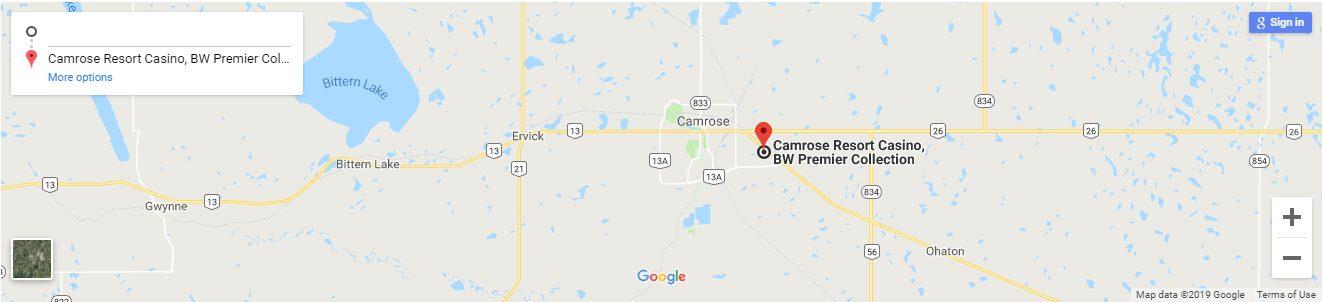 Camrose Resort Casino Canada