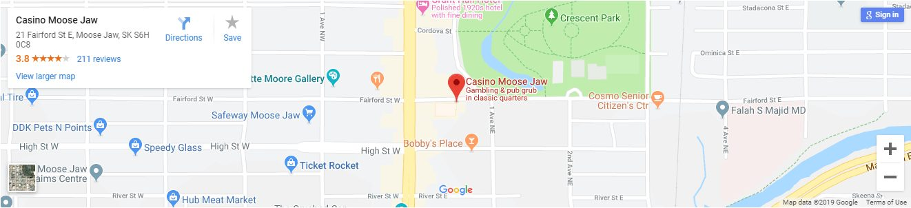 Moose Jaw Casino Canada