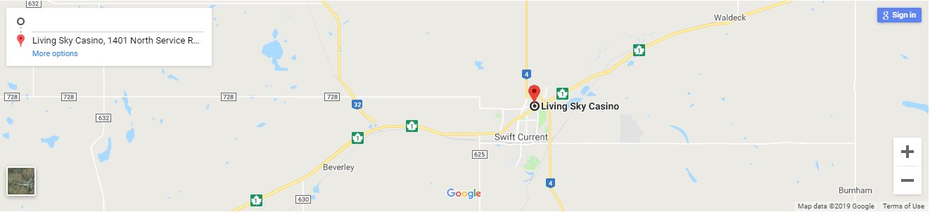 Living Sky Casino Canada