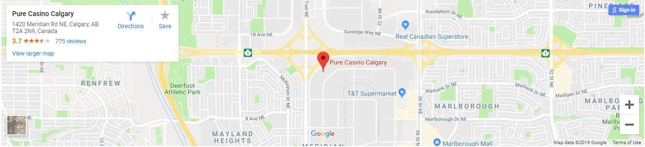 Pure Casino Calgary Canada