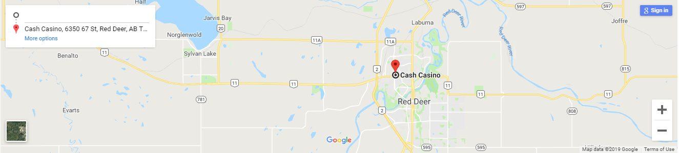 Red Deer Cash Casino Canada