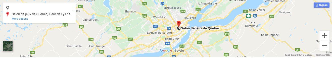 Salon de Jeux Qebec Canada