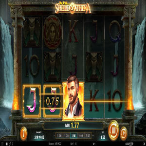 Riche Wilde and the shield of Athena slot