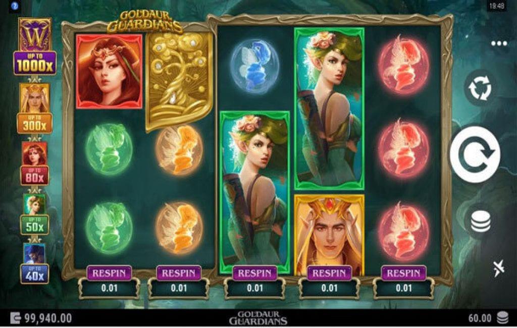 goldaur guardiands slot
