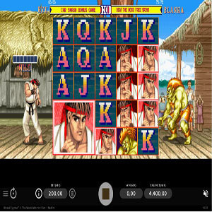 street fighter II slot