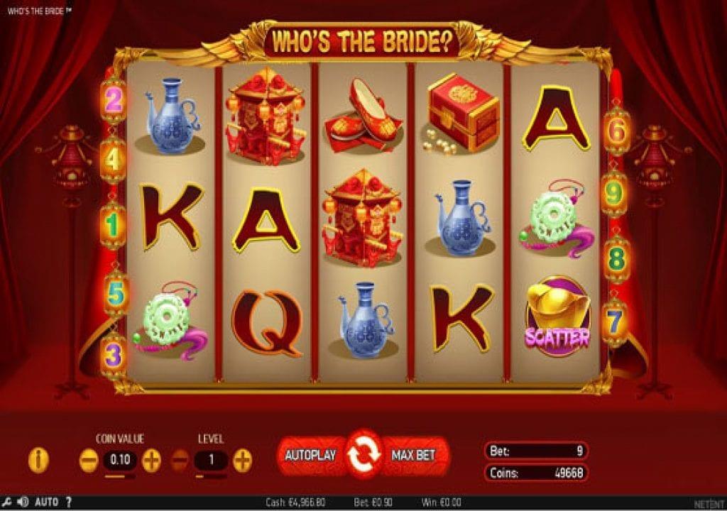 Whos The Bride Slot Machine