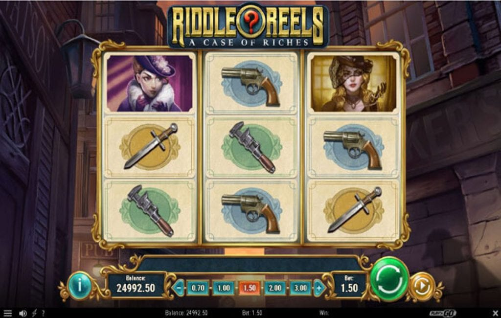 Riddle Reels a Case of Riches (6)