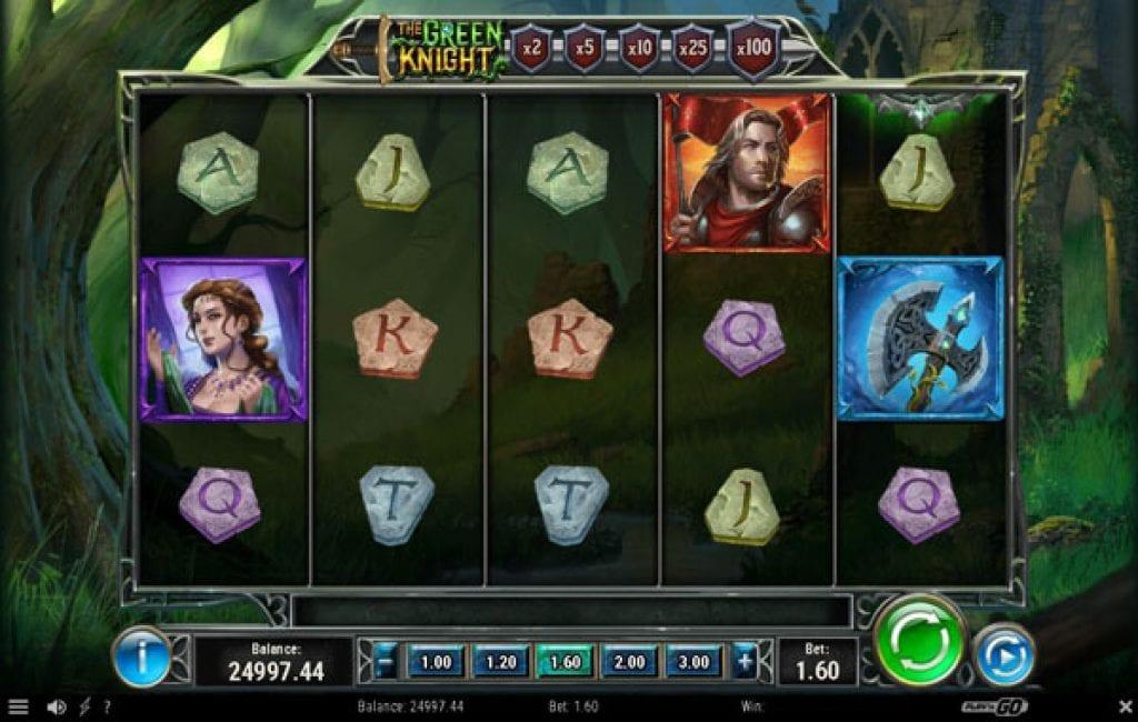 the green knight slot