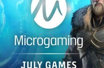 microgaming july slots